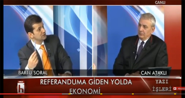 Referanduma Giden Yolda Ekonomi, Bartu Soral, Can Ataklı
